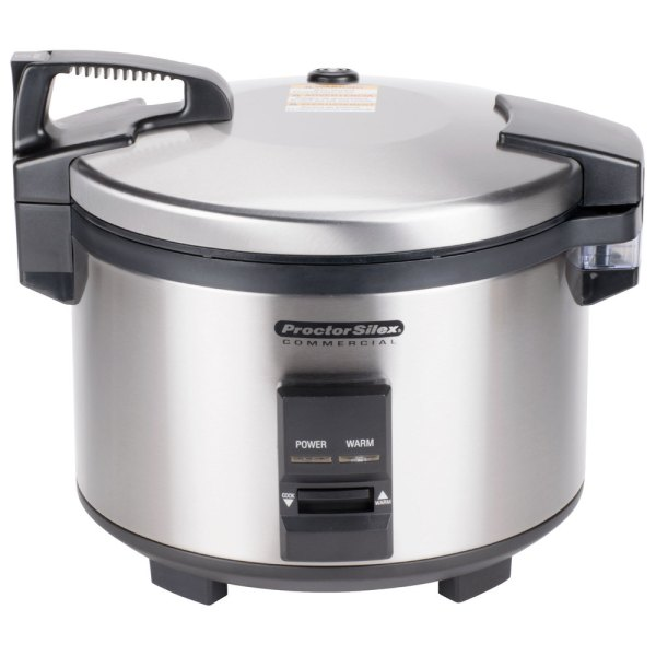 Proctor Silex 37540 40 Cup 20 Raw Rice Cooker Warmer - 120v
