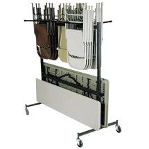 National Public Seating 42-8-60 Folding Chair Table