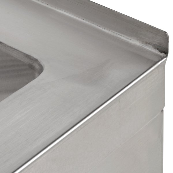 "Regency 25"" 16-gauge Stainless Steel Compartment Floor"
