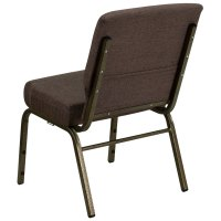 """Flash Furniture FD-CH0221-4-GV-S0819-GG Brown 21"""" Extra ..."""