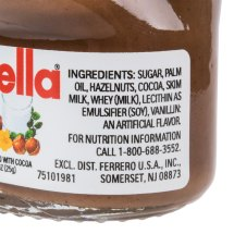 Nutella Hazelnut Spread 13 Oz Skim Milk With Cocoa - Year of