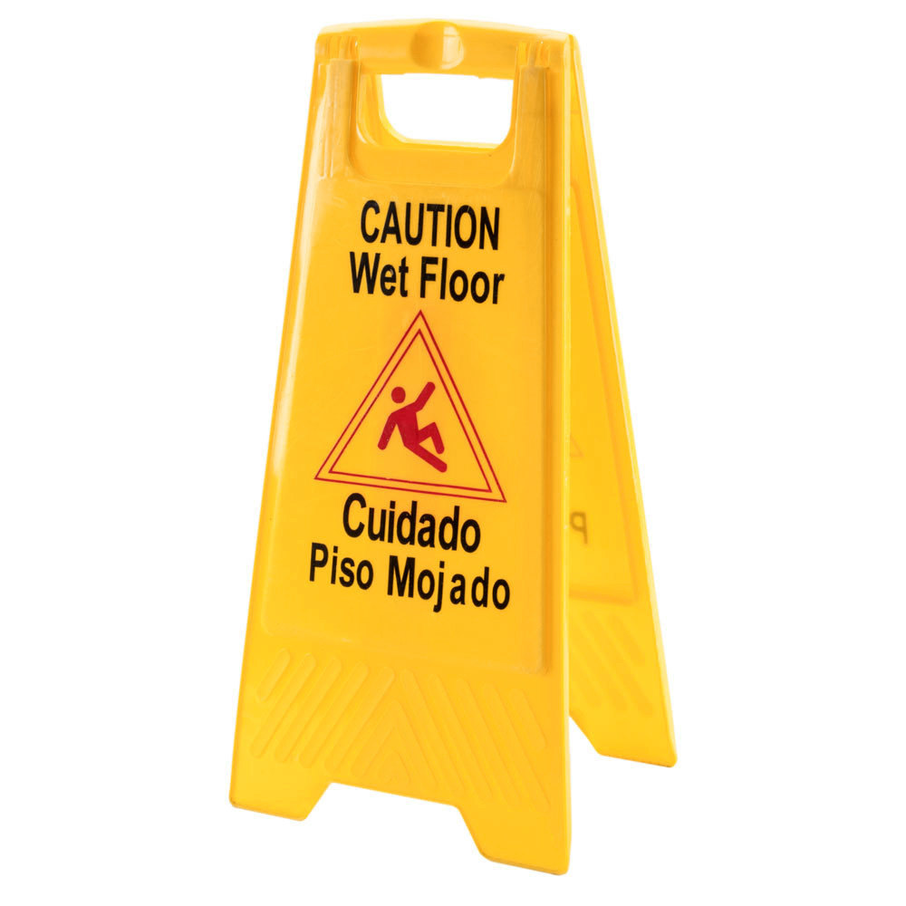 Wet Floor Sign  Yellow Wet Floor Signs