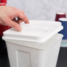 Plastic Ice Bucket with Lid