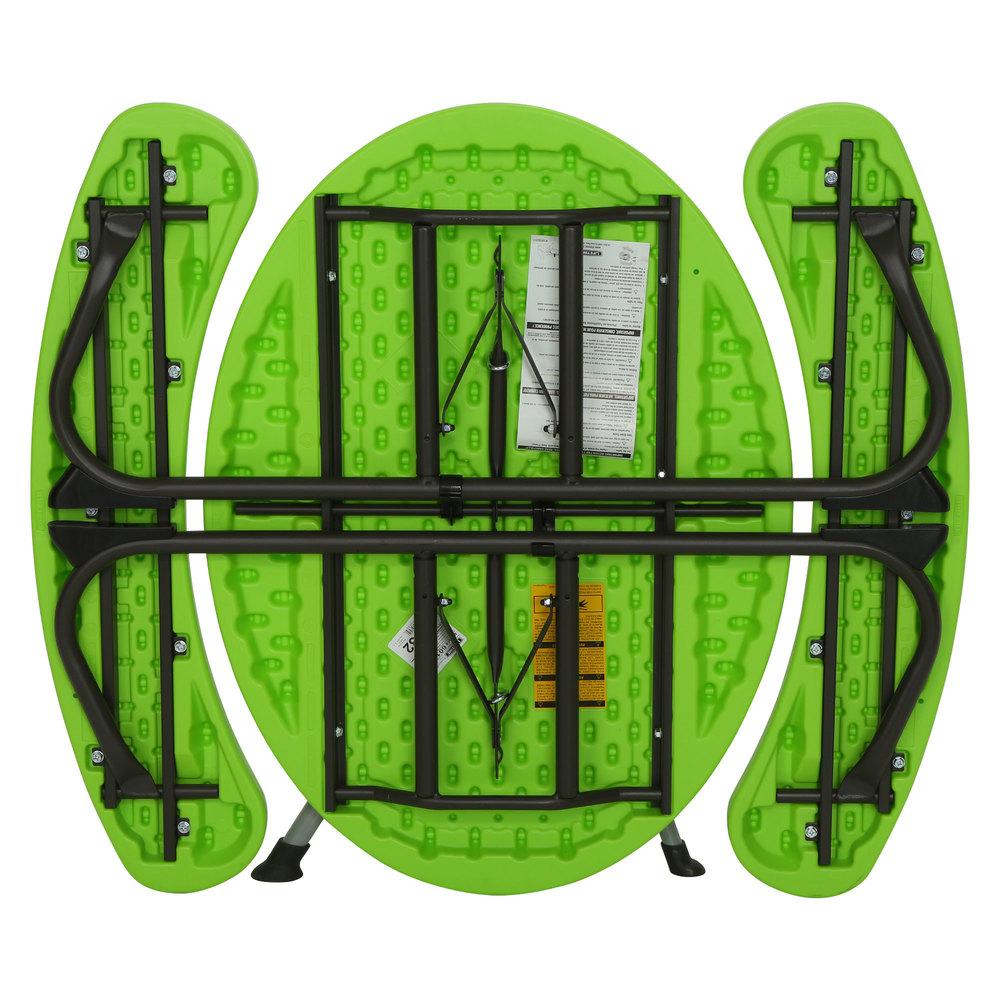 Lifetime 60132 24 13 16 Quot X 34 Quot Oval Lime Green Plastic