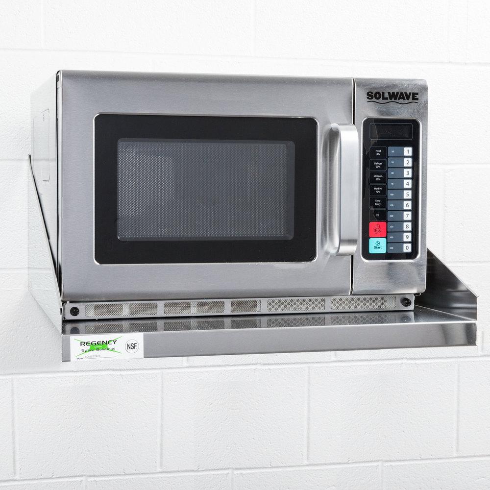 Microwave Shelf Under Cabinet