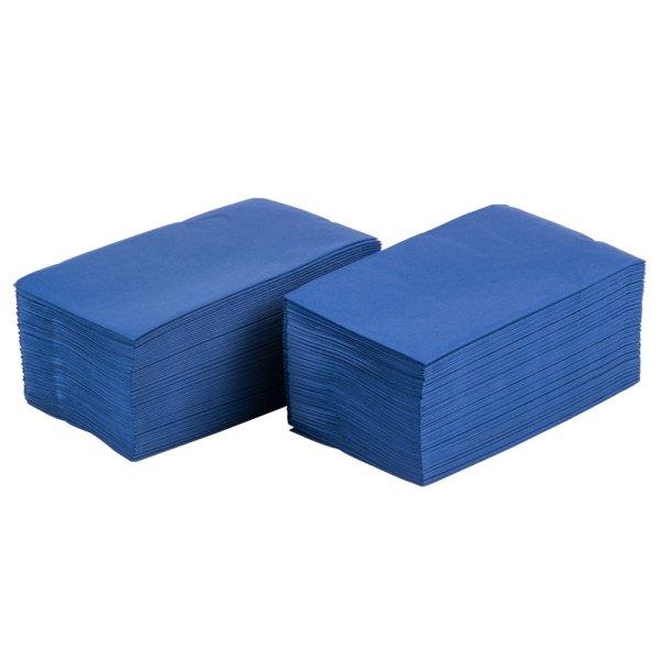 "Navy Blue Paper Dinner Napkin Choice 2-ply 15"" X 17"