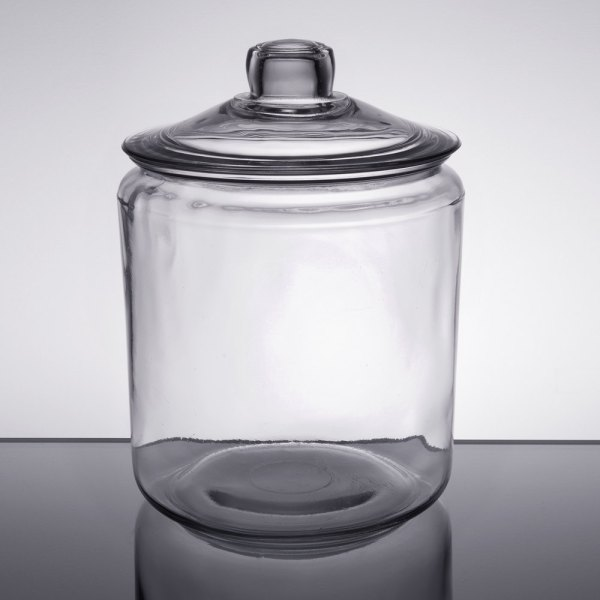 Anchor Hocking 69349t 1 Glass Gallon Jar With Cover