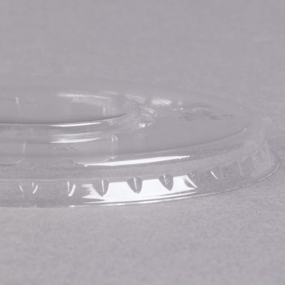 WNA Comet LCD58C Clear Flat Lid for 5 and 8 oz. Dessert