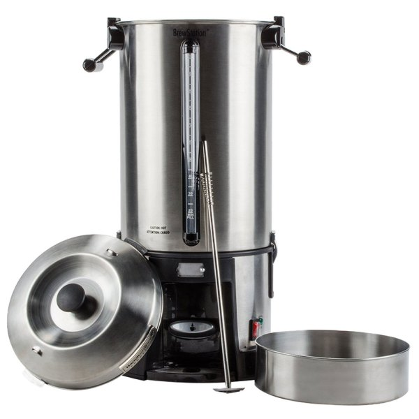 Hamilton Beach Hcu110s Brewstation 110 Cup 4.3 Gallon Coffee Urn - 120v