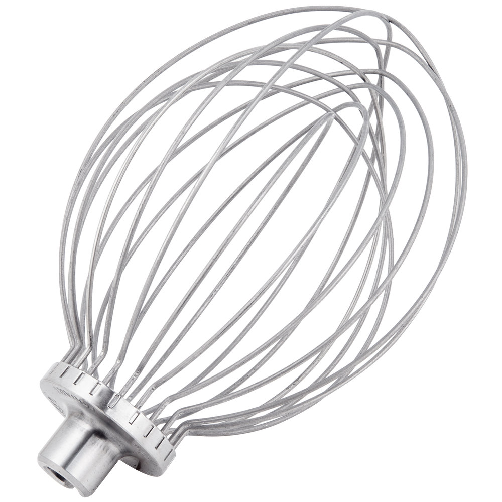 Hobart DWHIP-SST005 N50 Stainless Steel Wire Whip for 5 Qt