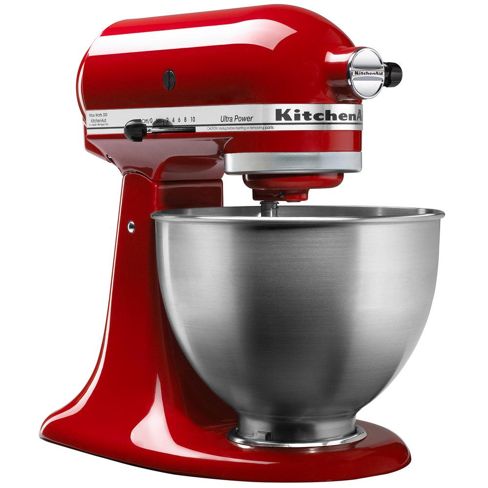 KitchenAid KSM95ER Empire Red Ultra Power Series 45 Qt