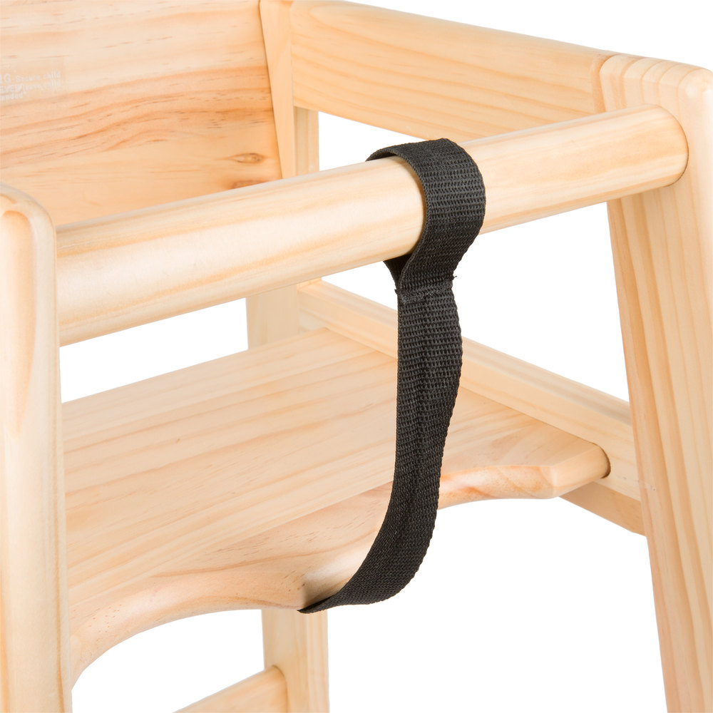 Lancaster Table  Seating Restaurant High Chair Crotch Strap