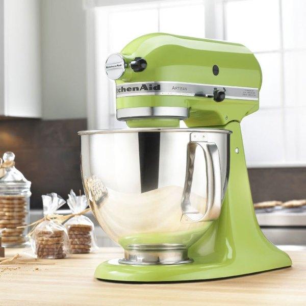 Kitchenaid Ksm150psga Green Apple Artisan Series 5 Qt. Stand Mixer