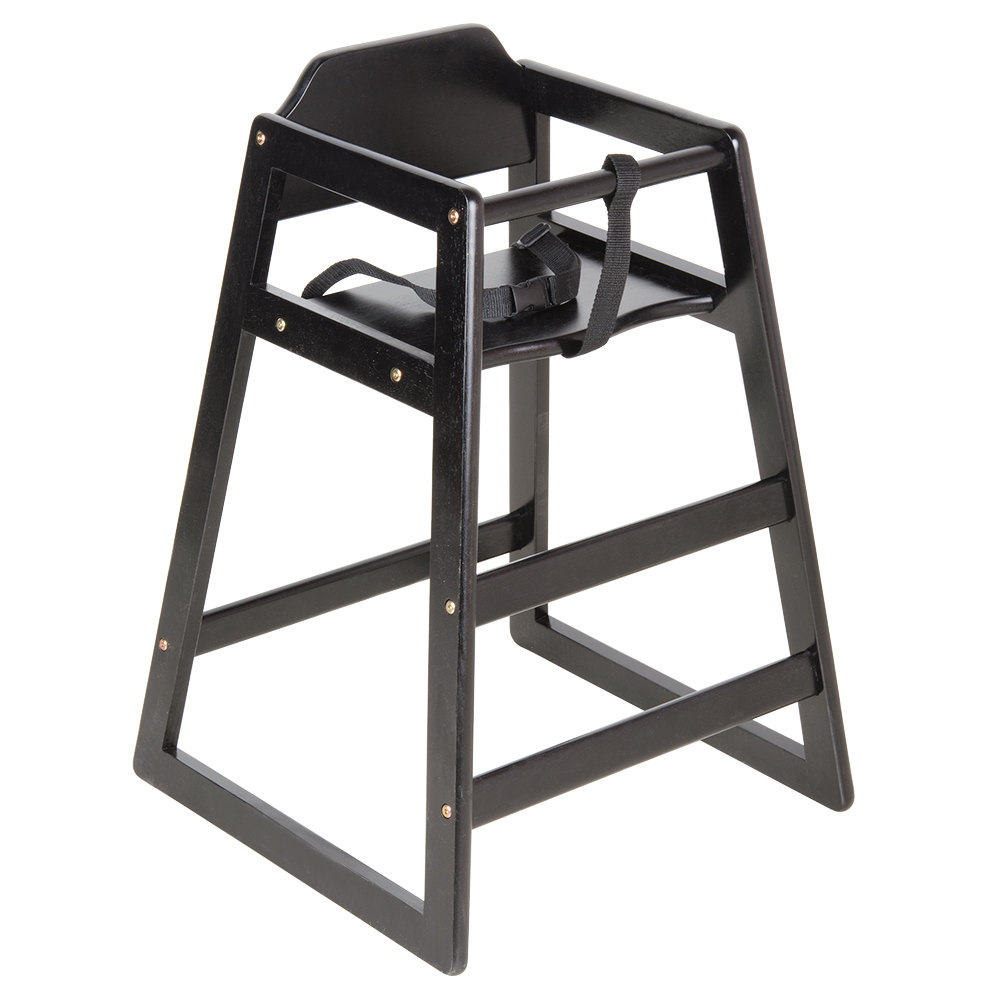 Lancaster Table  Seating Unassembled Black Stacking
