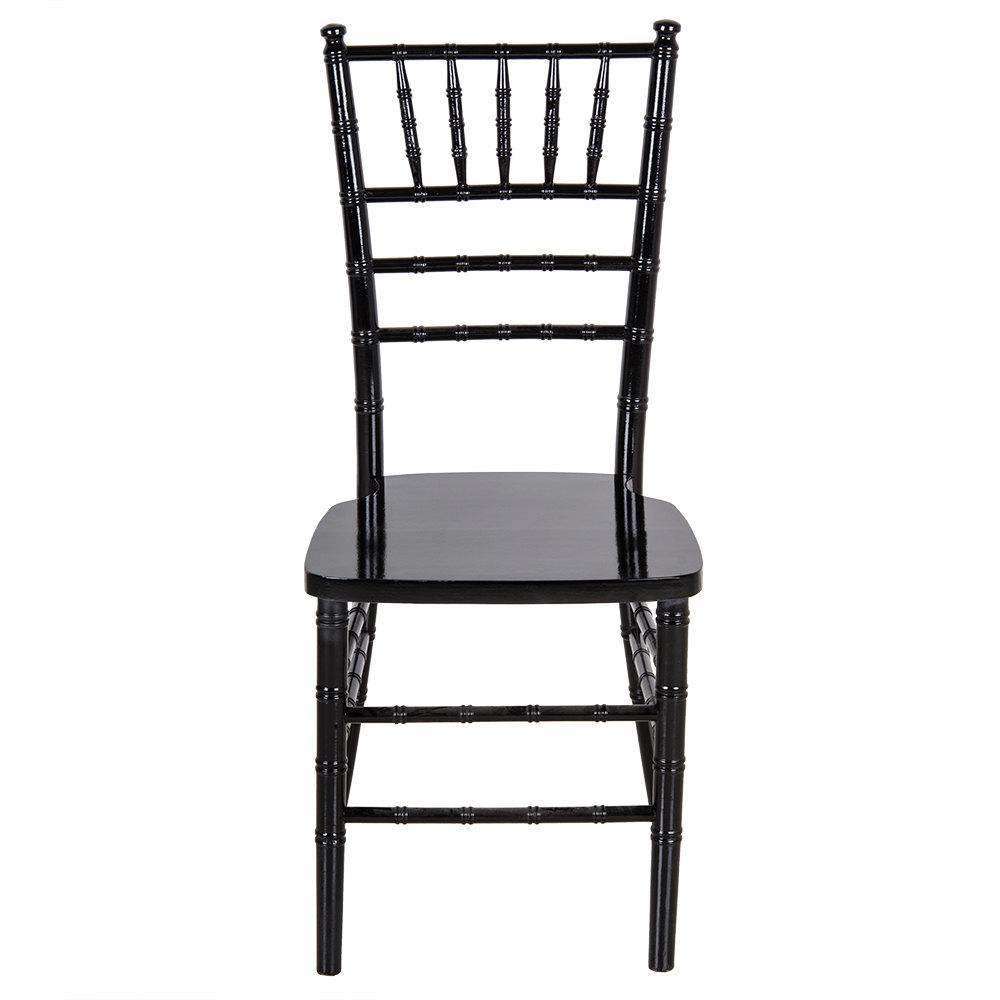 Lancaster Table  Seating Black Chiavari Chair