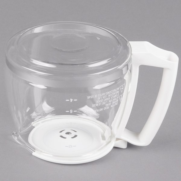 Proctor Silex 88180y Glass 12 Cup Replacement Carafe With