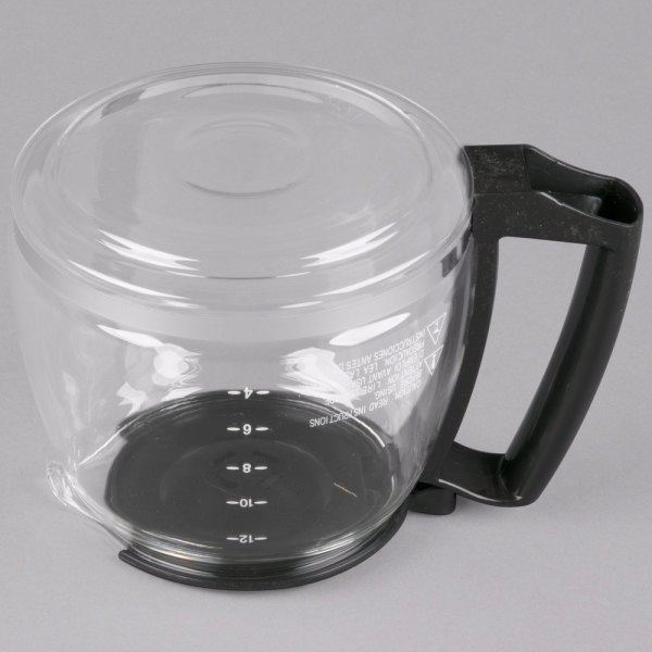 Proctor Silex 88185y Glass 12 Cup Replacement Carafe With