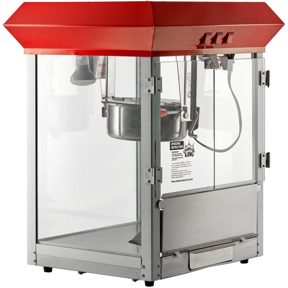 medium resolution of popcorn machine popper 120v 850w