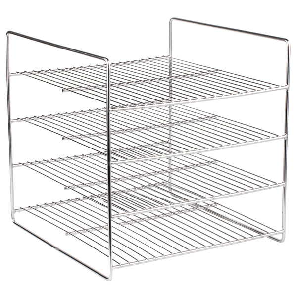 APW Wyott 21721548 4 Shelf Flat Food Rack for HDC-4 and