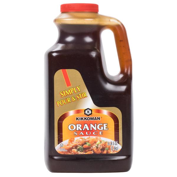 kikkoman 5 lb orange