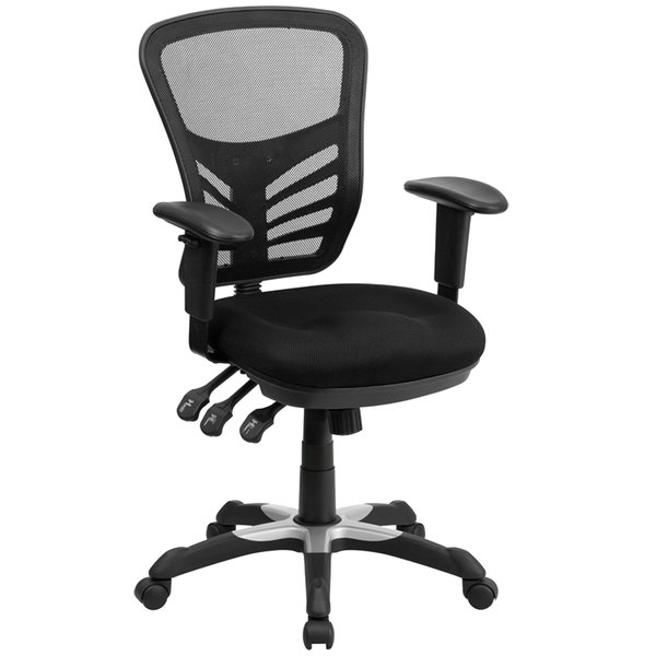 chair design back angle bubble hanging ikea flash furniture hl 0001 gg mid black mesh office with main picture