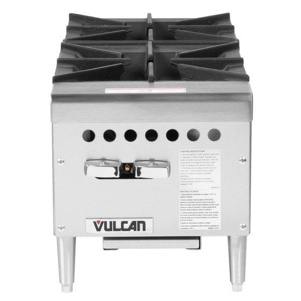 vulcan kitchen restaurant double swing doors vcrh12 1 natural gas 12 2 burner countertop range hot main picture