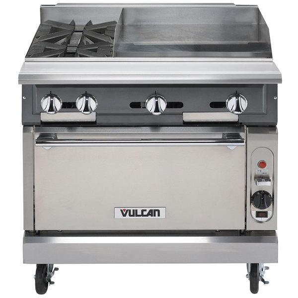 vulcan kitchen appliances package v2bg24s nat v series natural gas 36 2 burner heavy duty main picture