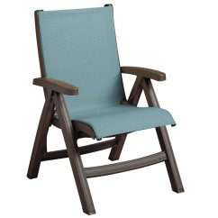 Sling Chair Outdoor Spandex Covers In China Grosfillex Us550037 Belize Bronze Mist Midback Folding Resin Main Picture