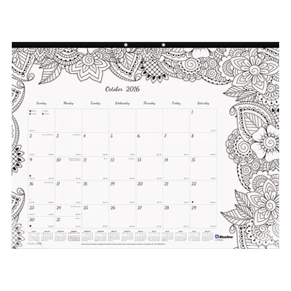 August Calendar Header Coloring Page Coloring Pages