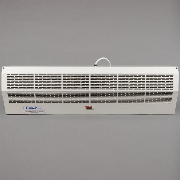 curtron ap 2 36 1 pc air pro white powder coated air curtain 120v
