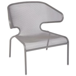 Steel Lounge Chair Kids Patio Table And Chairs Bfm Seating Dv260ts Maze Titanium Silver Main Picture