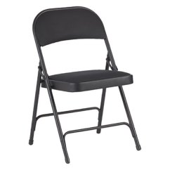 Folding Chair Fabric Rocket Gaming Alera Alefc97b Graphite Steel With Black Back Main Picture