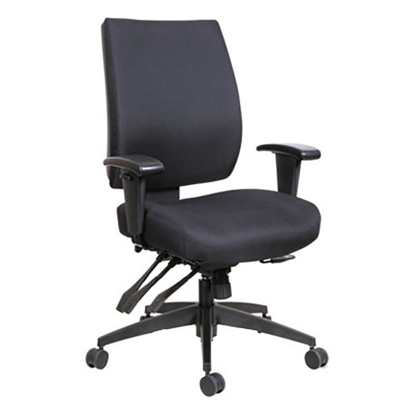 cloth office chairs chair argos alera alehpm4201 wrigley mid back multifunction black fabric main picture