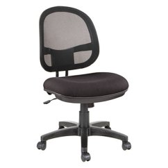 Alera Office Chairs Swivel Chair Living Room Alein4814 Interval Black Mesh Fabric With Main Picture