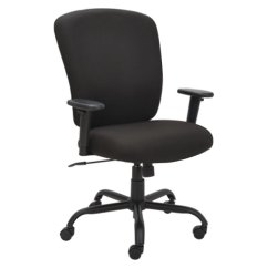 Office Chair Steel Base With Wheels Barber Chairs For Sale In Chicago Alera Alemt4510 Mota Black Big Tall Fabric Main Picture