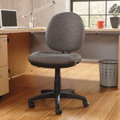 Cloth Office Chairs Staples Executive Chair Alera Alein4841 Interval Graphite Gray Fabric With Black Image Preview