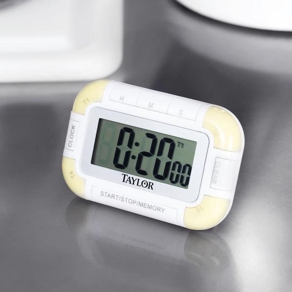 taylor kitchen timer custom hoods 5862 digital 4 channel pocket