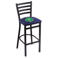 Notre Dame Chair 4moms High Review Holland Bar Stool L00430nd Shm Black Steel University Of Height With Main Picture