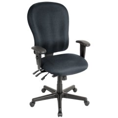 Xl Desk Chair Cover Hire Stockton On Tees Eurotech Fm4080 H5511 4x4 Series Charcoal Fabric Mid Back Main Picture Video