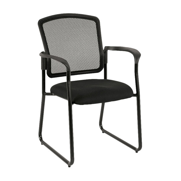 office side chair blames high cushion eurotech 7055sb black dakota2 series mesh with arm rests main picture image preview