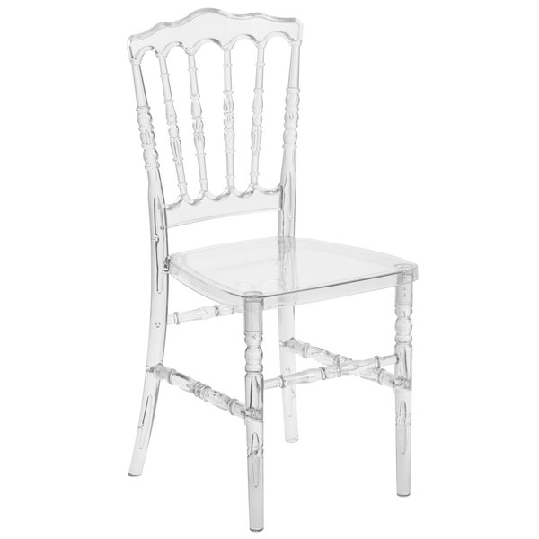 transparent polycarbonate chairs modern living room chair flash furniture bh h002 crystal gg elegance chiavari napoleon main picture