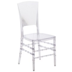 Transparent Polycarbonate Chairs Velvet Purple Chair Flash Furniture Bh H006 Crystal Gg Elegance Chiavari Main Picture
