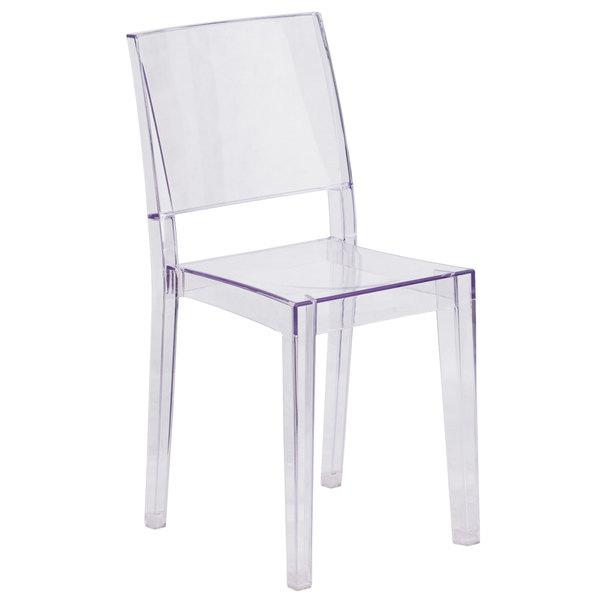 transparent polycarbonate chairs beach chair cushions flash furniture fh 121 apc gg phantom main picture