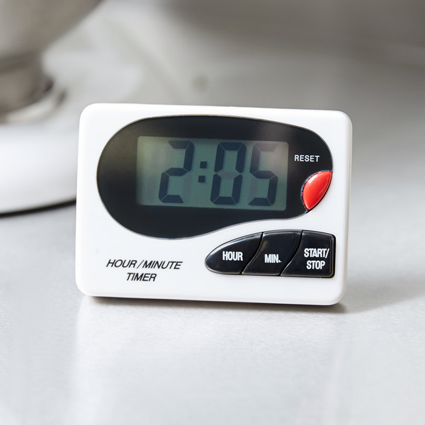 kitchen timer mosaic designs for backsplash digital hour minute magnetic with clip