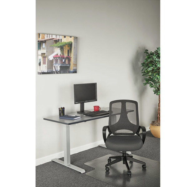 alera office chairs acrylic chair clear alemb4748 mb series mid back gray black mesh image preview