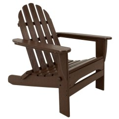 Polywood Classic Adirondack Chair Office Chairs Chicago Il Ad5030ma Mahogany Folding Main Picture