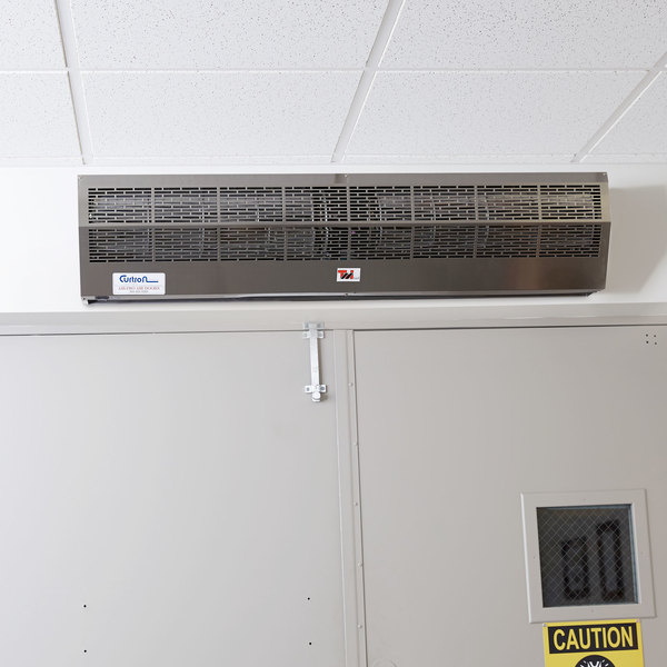curtron ap 2 48 1 ss air pro air curtain insect door 48 120v