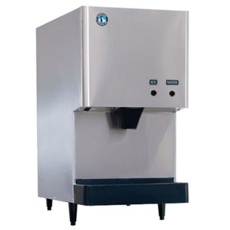 Hoshizaki DCM-270BAH Countertop Ice Maker and Water Dispenser - 8.8 lb. Storage Air Cooled