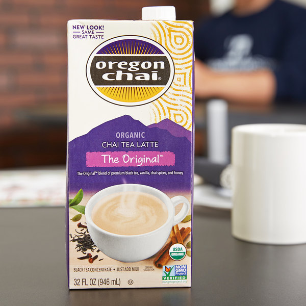 Oregon Chai Organic Chai Tea Latte Concentrate - 32 oz.