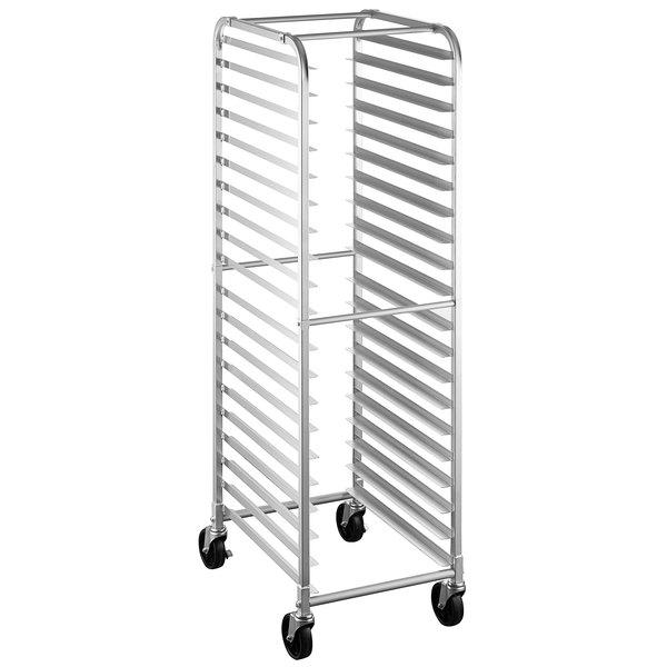 steelton 20 pan end load bun sheet pan rack unassembled